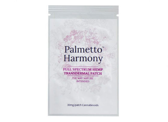 30 mg Transdermal Patch by Palmetto Harmony