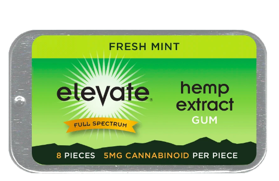 Elevate® Hemp Extract Gum