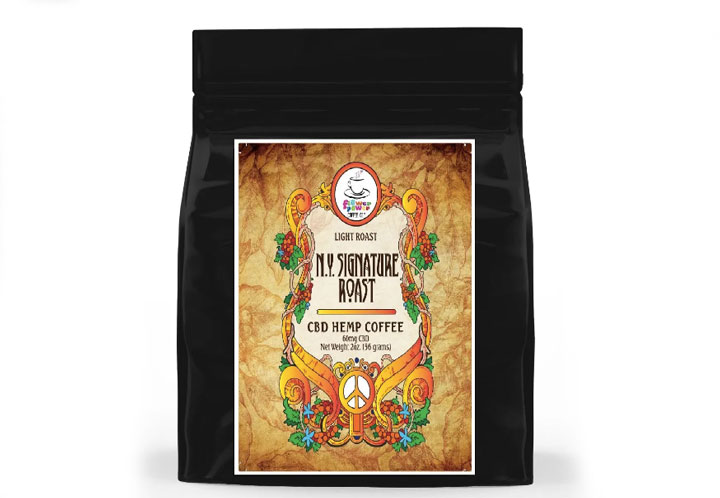Flower Power Coffee New York Signature Blend