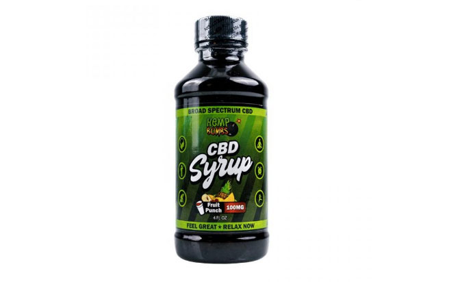 Hemp Bombs CBD Syrup
