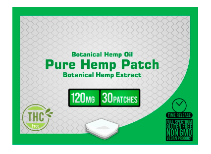 Nano 101 CBD Patches by CBD+