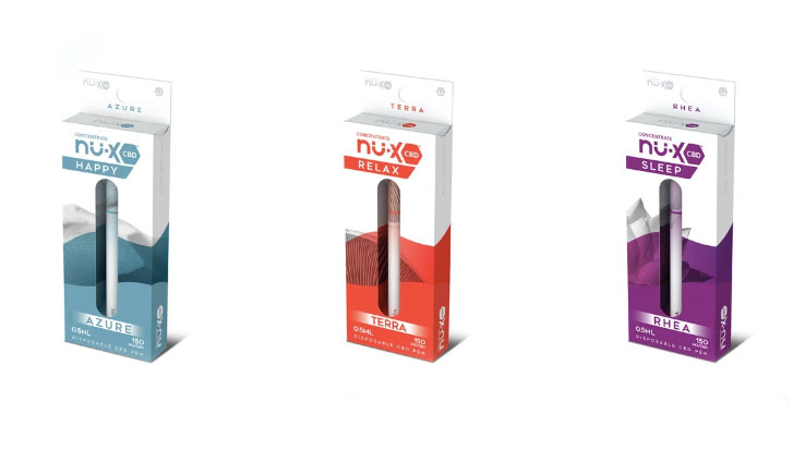 Nu-X Disposable CBD Vape Pens