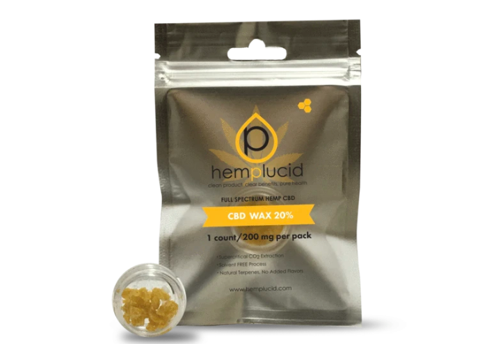 Whole-Plant CBD Wax by Hemplucid